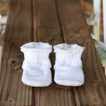 Toddler - Charlotte Minky Booties