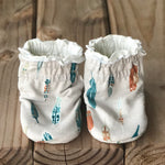 NEW Limited Edition Reversible Rowen Cotton Knit Booties