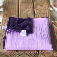 RTS Solid Lilac Cotton Cuddle Lovey
