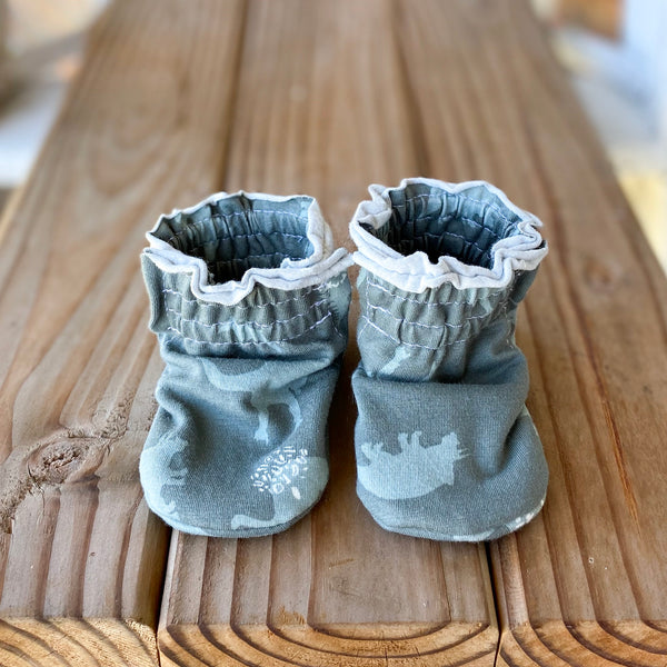 NEW! Chase Cotton Knit Booties