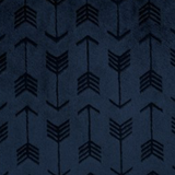 Navy Embossed Arrows