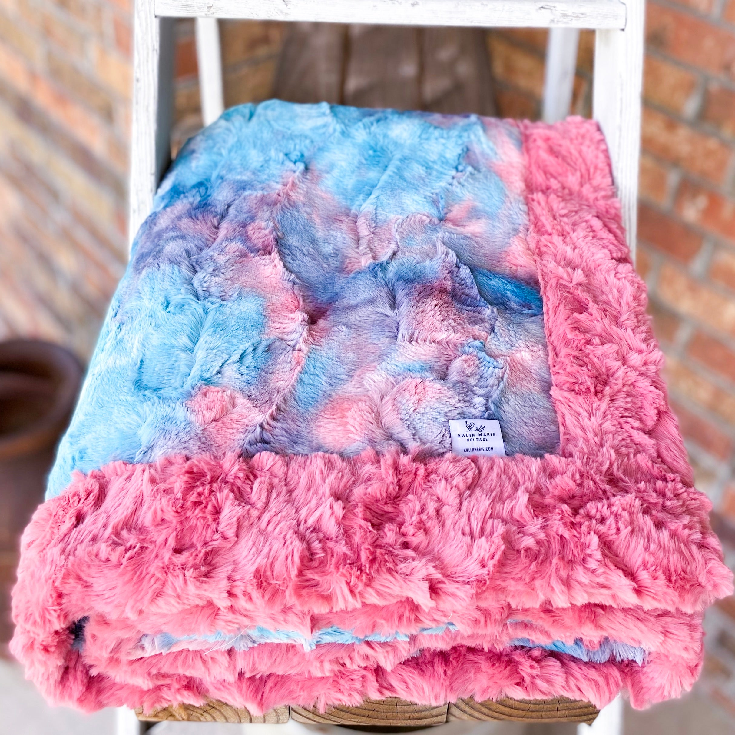 RTS Miami Sorbet Double Luxe Blankets