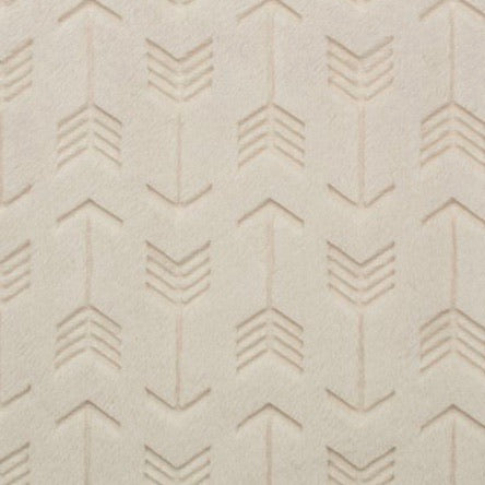 Beige Embossed Arrows