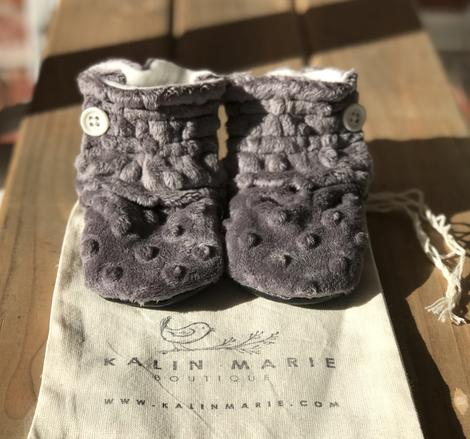 Toddler - Jack/Ruthie Minky Booties
