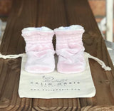 Toddler - Shirley Minky Booties