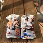 Spoonflower/Special Request Custom Order Blanket & Minky Booties