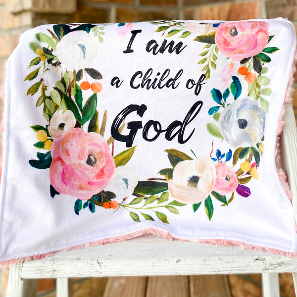 Limited Edition Child of God Luxe Loveys Custom Order