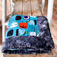 RTS Monster Mash Luxe Snuggle Blankets