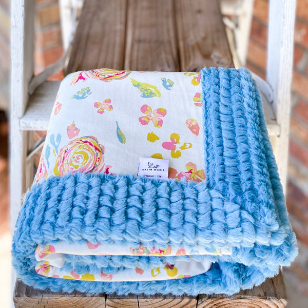 New! Cotton Knit Blankets Custom Order