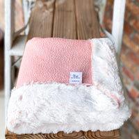 RTS Blossom Sparkle & Blossom Frost Double Luxe Blanket