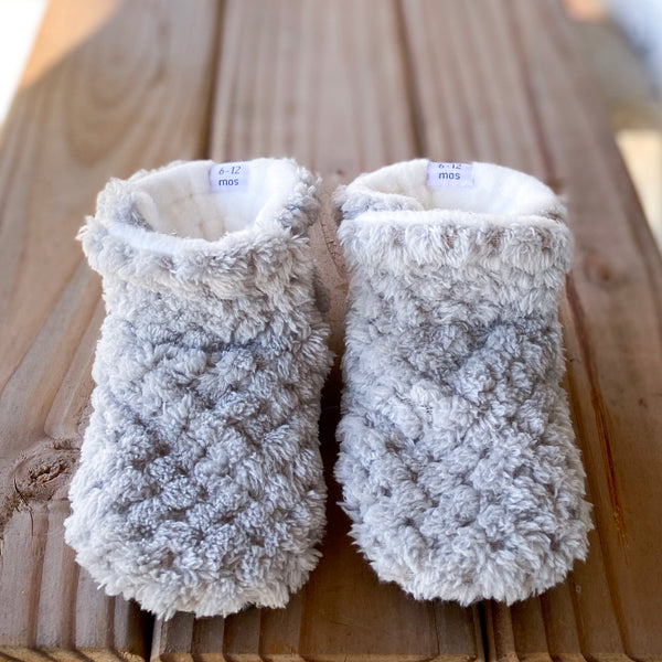 Eleanor/Elliott Minky Booties