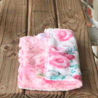 Rosie Blush Luxe Snuggle Lovey
