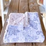 RTS Garden Toile Steel Cotton Cuddle Lovey