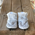 Imperfect RTS Quinn Minky Booties
