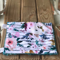 RTS Limited Edition Harper Floral Stripe Spoonflower Luxe Snuggle Lovey