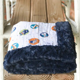 RTS Woodchip Luxe Cuddle Loveys & Blankets