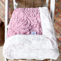Easy Order Demi Rose Woodrose & Rosewater Frost Double Luxe Blanket