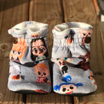 Spoonflower/Special Request Custom Order Minky Booties