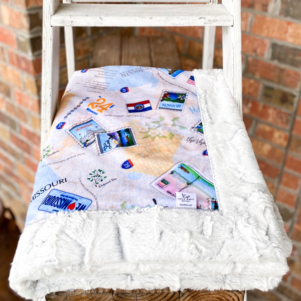 RTS Missouri State Luxe Snuggle Blankets
