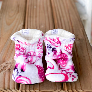 "RTS Classic Style Booties 12-18 Months - 5.5"" Sole"