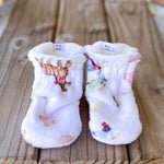 New Limited Edition MacDonald Minky Booties
