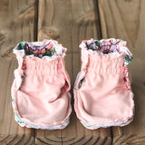NEW Limited Edition Reversible Kalin Marie Cotton Knit Booties