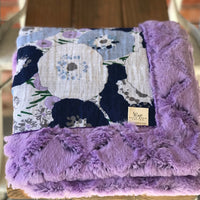 RTS Fresh Cut Bluebell Luxe Cuddle Blanket