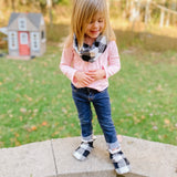 Toddler - New Ember Minky Booties
