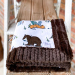 RTS Woodland Pals Luxe Snuggle Blankets