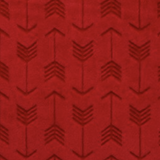Red Embossed Arrows