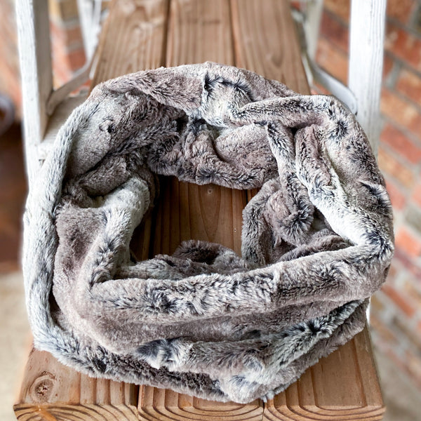 RTS Minky Petite Adult Infinity Scarves!