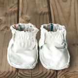 Limited Edition Reversible Rowen Cotton Knit Booties