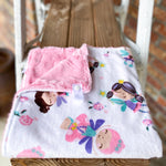 Deal of the Week! RTS Twinkle Toes Loveys & Blankets