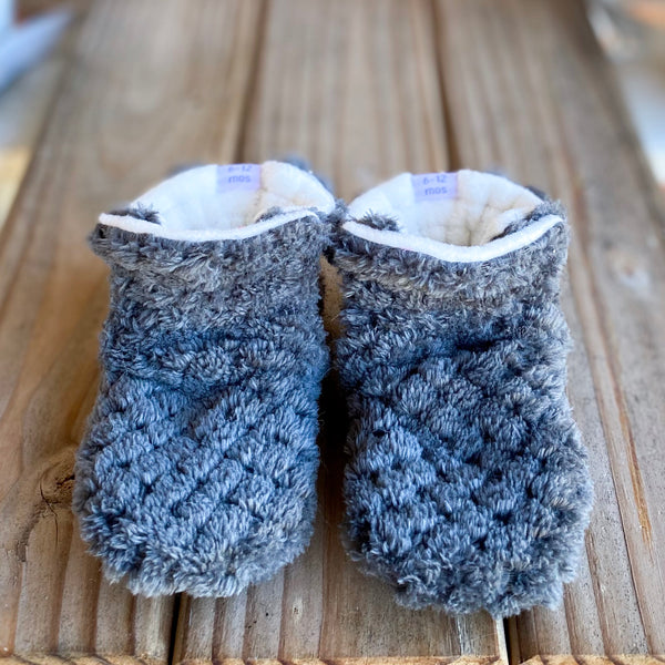 Toddler - Max Minky Booties