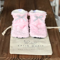 Custom Order Youth/Womens Minky Booties