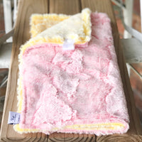 Cotton Candy Heathered Double Luxe Lovey