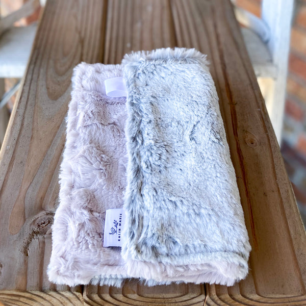 RTS Silver Frost & Rosewater Hide Luxe Lovey
