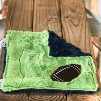 Ready To Ship Football Applique Mini Loveys