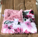 Spring Flowers Rose Luxe Snuggle Lovey