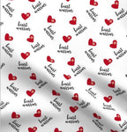 Limited Edition Spoonflower Heart Warrior Minky Luxe Loveys & Blanket Custom Order