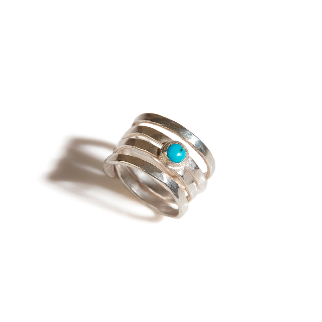 Turquoise Saturn Ring