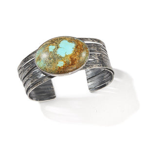 Signature Cuff with Turquoise
