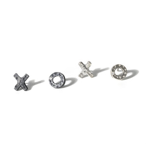 X and O Stud Earring