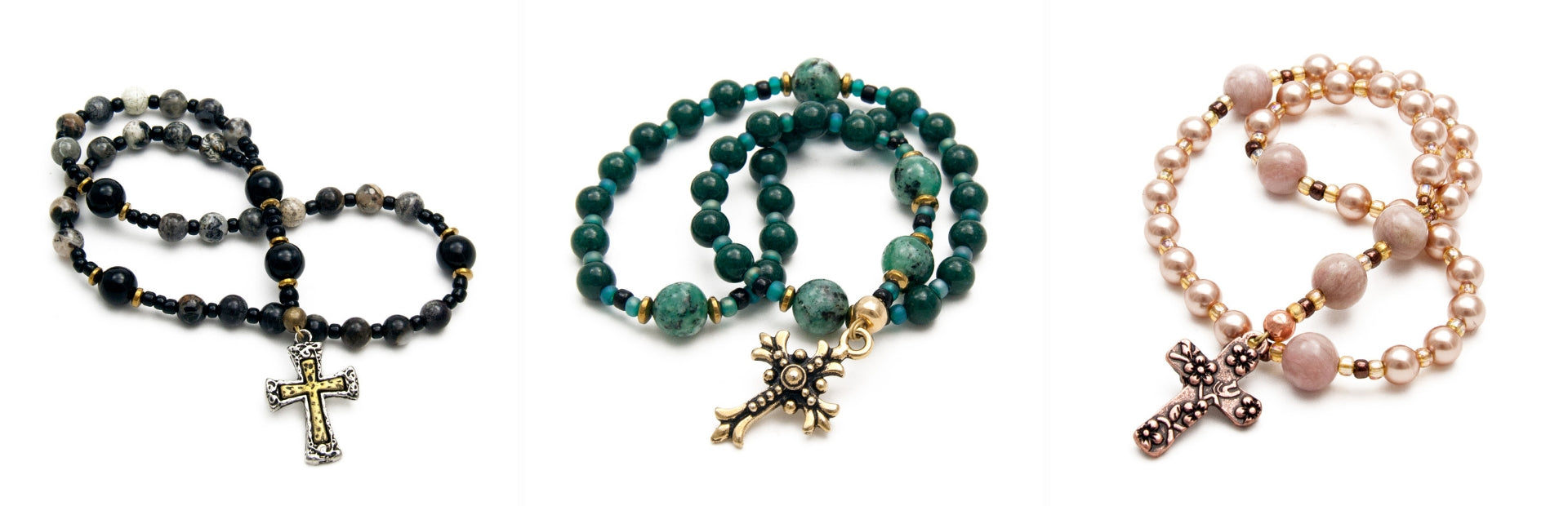 Anglican Prayer Beads by Unspoken Elements