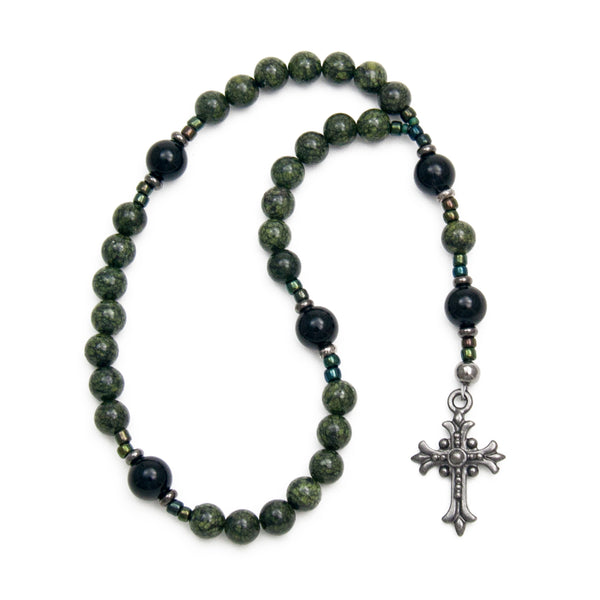 Serpentine Prayer Beads