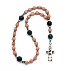 ΙΧΘΥΣ Jesus Fish Prayer Beads