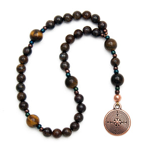 Labyrinth Prayer Beads