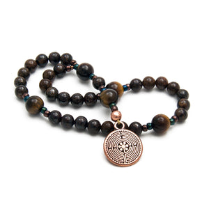 Labyrinth Anglican Prayer Beads