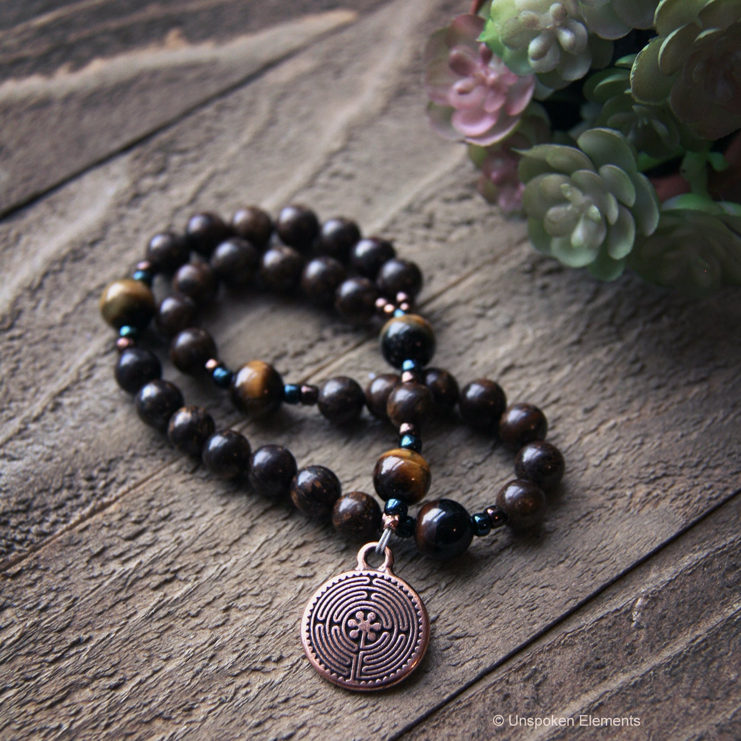 Labyrinth Anglican Prayer Beads by Unspoken Elements