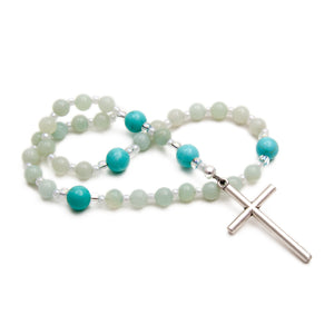 Amazonite Anglican Rosary